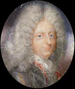 Portret van Christiaan V van Denemarken (1646-1699)