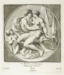 Mars, Venus en Cupido (pl. XXXVII)