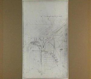 Trapportaal van een woonhuis