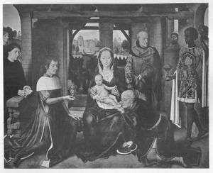 De aanbidding van de Wijzen met Jan Floreins