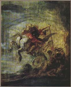 Bellerophon verslaat de Chimaera