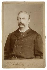 Portret van Louis Marie de Kanter de Laat (1829-1894)
