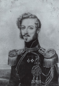 Portret van Johan Frederik Willem Carel baron van Hardenbroek (1807-1871)