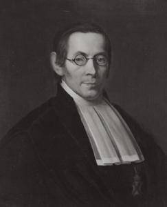 Portret van Henricus Egbertus Vinke (1794-1862)