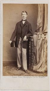 Portret van een man, waarschijnlijk Henri baron van Pallandt (1841-1901)