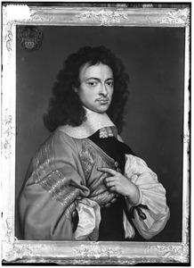 Portret van Dirck van Leyden van Leeuwen (1628-1682)