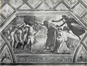 De doop van Christus in de Jordaan door Johannes de Doper (Lucas 3:21-22)