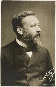 Portret van David Adolphe Constant Artz (1837-1890)