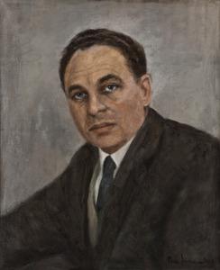 Portret van Leendert Marinus Koyck (1918-1962)