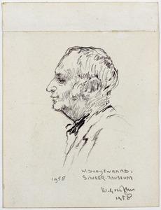 Portret van Willem Dooijewaard