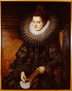 Portret van Isabella Clara Eugenia van Habsburg (1566-1633)