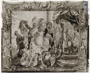 Overdracht van de schatten van Darius (of: Salomo ontvangt de schatten van David?)