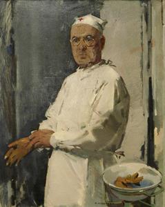 Portret van Jacobus Exalto (1881-1966)