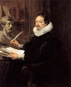 Portret van Jan-Gaspar Gevartius (1593-1666)