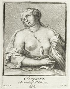Cleopatra met de slang (pl. XCVI)