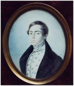 Portret van Lodovicus Wilhelmus Josephus Maria Verheyen (1819-1868)