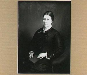 Portret van Sydina Jacoba Loos (1831-1907), echtgenote van Cornelis Prins