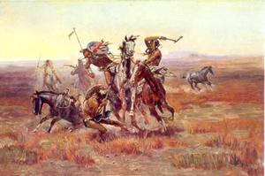 Als Blackfeet en Sioux elkaar tegenkomen