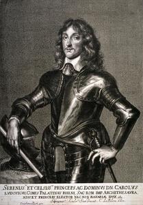 Portret van Karl I  Ludwig van de Palts (1617-1680)