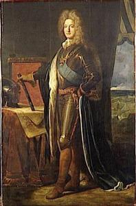 Portret van Adrien-Maurice de Noailles (1678-1766)