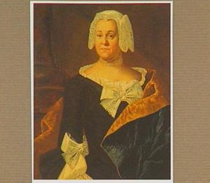 Portret van een vrouw in streekkostuum, ten halven lijve