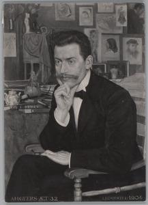 Portret van Anthony Hendrik Geers (....-1932)
