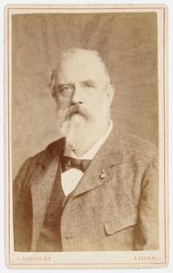 Portret van Samuel Corneille Jean Wilhelm van Musschenbroek (1827-1883)