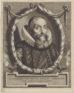 Portret van Jan van Havré (1551-1625)