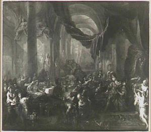 De dood van Alexander de Grote te Babylon