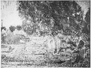 Landschap met boompartij
