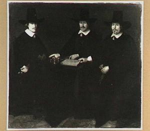 Drie regenten van het Burgerweeshuis te Alkmaar