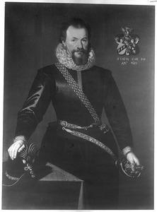 Portret van Osebrant Clant van Menkema (1561-1624)