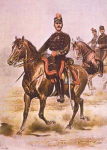 Eskadronsleider van de artillerie