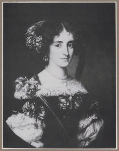 Portret van Maria Virginia Borghese (1642-1718), echtgenote van Agostino Chigi