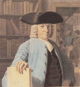 Portret van Johannes Enschede (1708-1780)