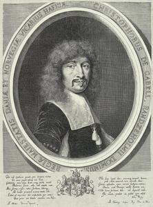 Portret van Christopher Gabel (1617-1673)