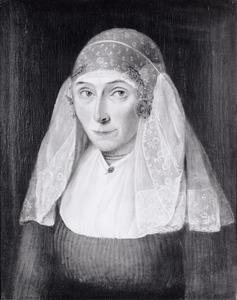 Portret van waarschijnlijk Willemtje Davids ( -1879)