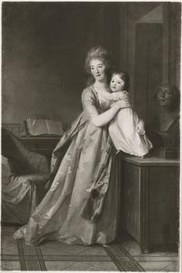 Dubbelportret van Cornelia Adriana Munter (1770-1828) en haar dochter Eleonore Louise Hedwig von Bose (1797-1831)