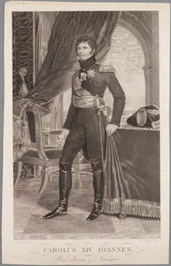 Portret van Karel XIV Johan van Zweden (1764-1844)