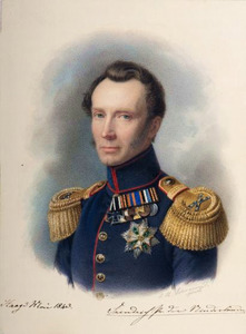 Portret van Frederik van Oranje-Nassau (1797-1881)