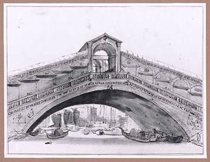 De Rialto-brug in Venetië