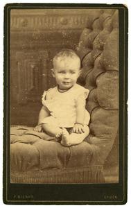 Portret van Elisabeth Anna Maria de Bruijn (1885-1992)
