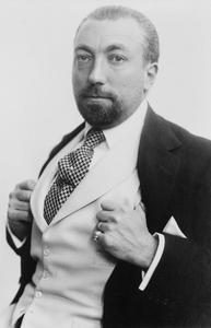 Portret van Paul Poiret (1879-1944)