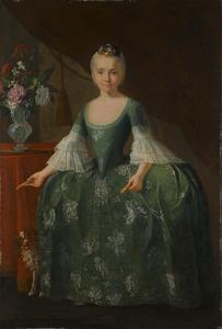 Portret van de infanta Maria Luisa de Borbon (1745-1792)