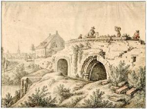 De Gildbrug over de Biltsche Grift bij Utrecht