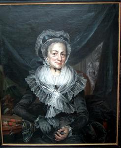 Portret van Maria Françoise Drolenvaux (1731-1797)