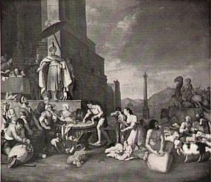 Jozef maakt Egypte schatplichtig  (Genesis 47:13-26).