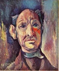 Zelfportret van Herman Kruyder (1881-1935)