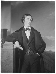 Portret van Louis Evert van Heeckeren (1830-1883)