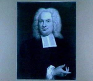 Portret van Gijsbertus Albertus Voget (1695-1771), hoogleraar in de Godgeleerdheid in Utrecht 1735-1771